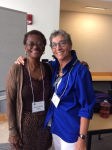 Johnnierenee Nelson and Jan- IWWG Conference